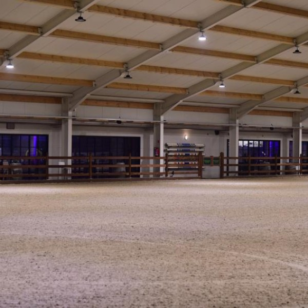 NEW INDOOR ARENA 60m X 35m