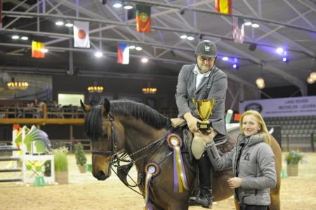 WILLEM VERMEIR & CEASAR FRANCK WINNEN INDOORFINALE GP 1.35M